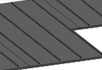 Filigree slabs - Layoutplan in 3D