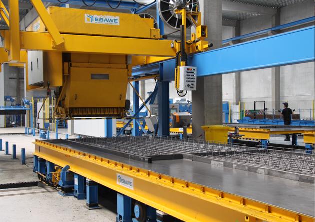 Predalco floor production machinery