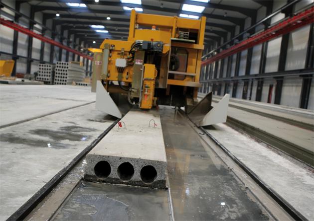 Connecteer met uw prefab betonvloerenmachines